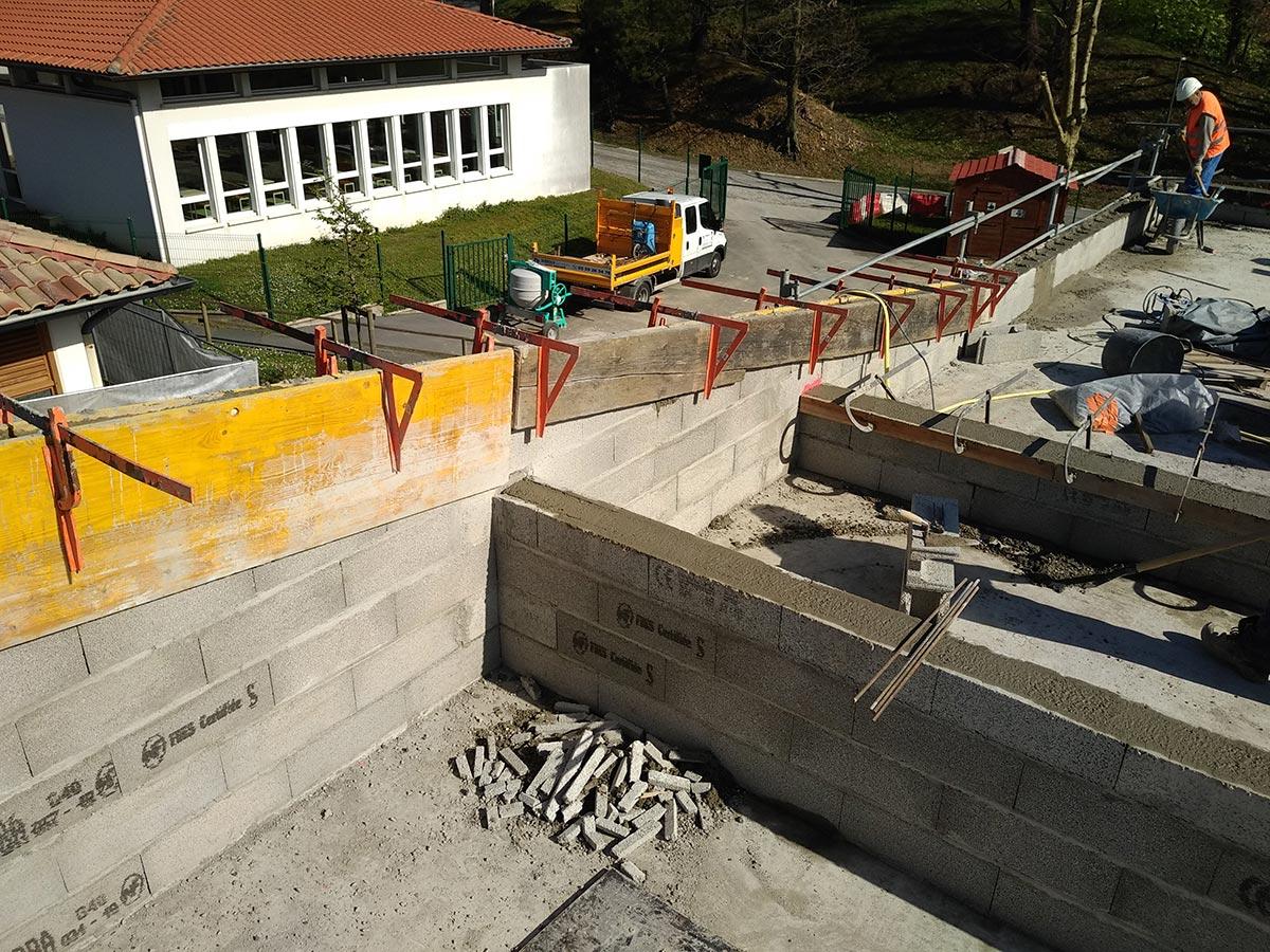 Dubroca Bâtiment - école maternelle - Bidart