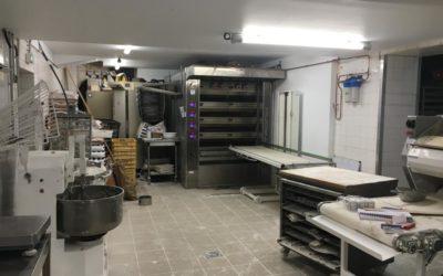Rénovation des laboratoires d'une boulangerie sur Bayonne