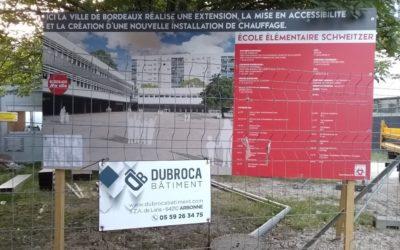 C'est parti pour une nouvelle opération d'extension d'école à Bordeaux