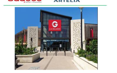 Nos équipes démarrent la réalisation du génie civil des nouvelles cuves de sprinklage du Géant Casino de Pessac.