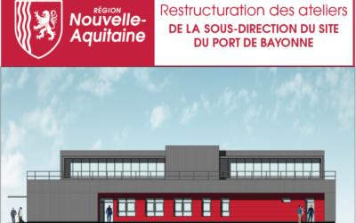 Démarrage de notre première opération pour la Région Nouvelle Aquitaine