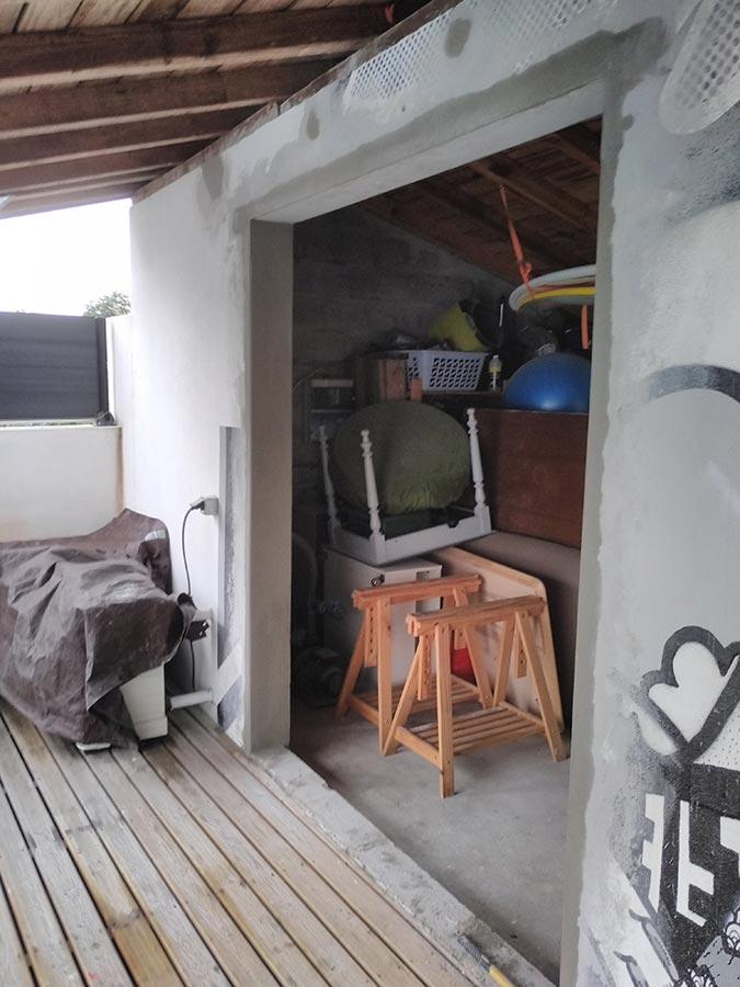 Bayonne - Transformation d'un garage en chambre