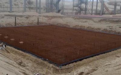 Construction d'un magnifique bassin