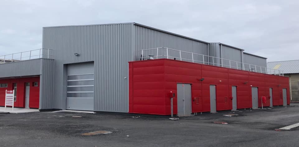 Nouvelles de la restructuration des ateliers du Port de Bayonne
